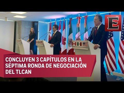 Finaliza séptima ronda de negociaciones del TLCAN
