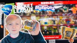 TOY HUNTING Shopping for NEW FORTNITE TOYS, #ROBLOXTOYS, Rocket League Toys and MORE!!