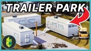 Trailer Park (Sims 4 Build)