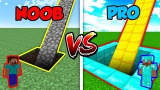 Minecraft NOOB vs. PRO: SECRET SLIDE in Minecraft!