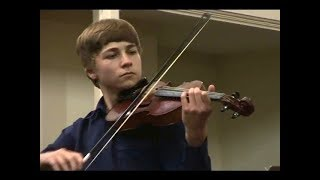 Charles Dancla: Resignation played by Simon Purdy, aged 13