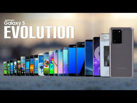 Samsung Galaxy S - THE EVOLUTION