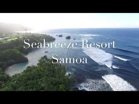 Seabreeze Resort Samoa Drone June 2017