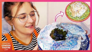 We baked Waitress' Mermaid Marshmallow Pie | Meals from a Musical