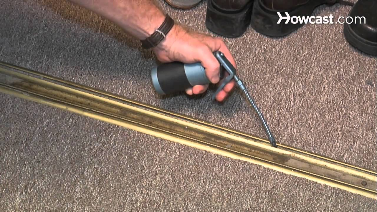 Installing Sliding Closet Doors Over Laminate Flooring