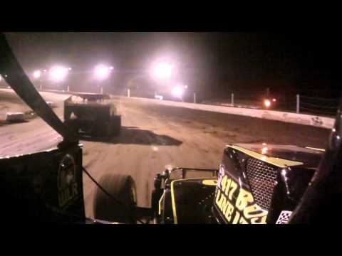Brett Hearn records the 2013 season opener at Albany Saratoga Speedway with a JonesCAM HD in-car cam