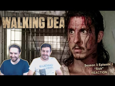 "The Walking Dead Season 3 Episode 2 Reaction ""Sick"""