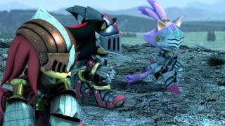 Sonic and the Black Knight - All CG Cutscenes in HD without subtitles