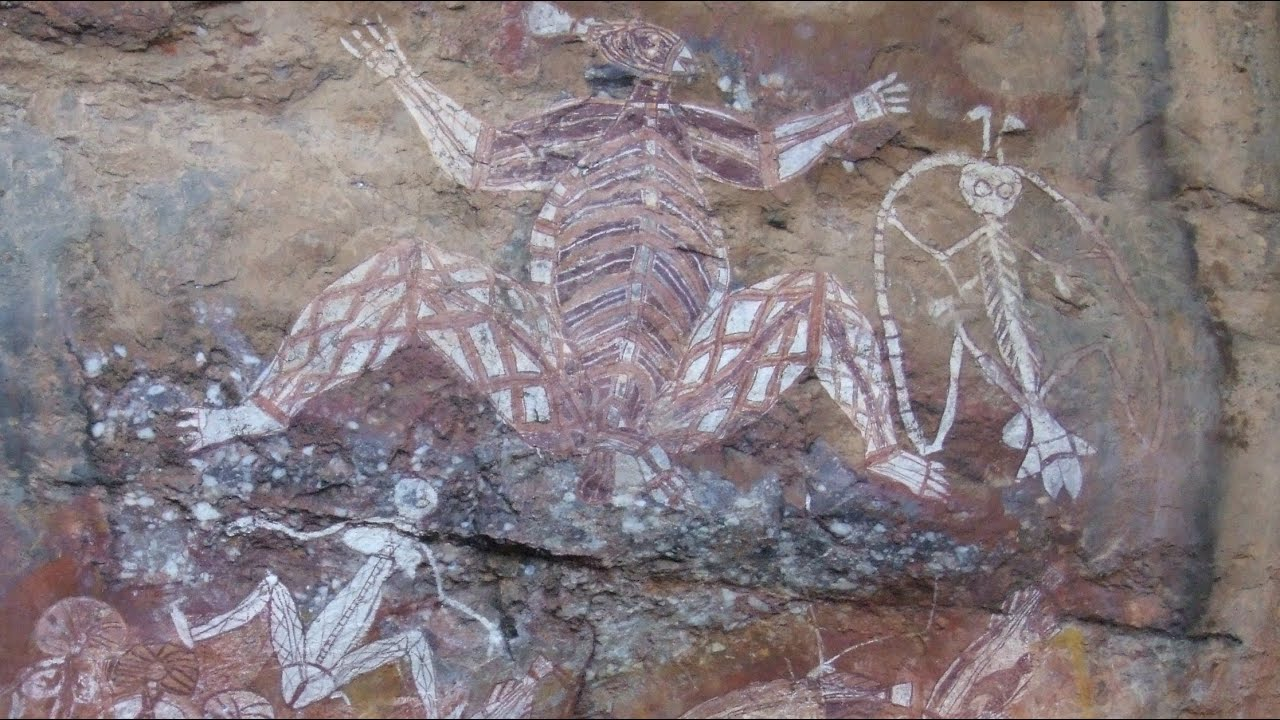 Aboriginal rock art ancient cave paintings kakadu youtube biocorpaavc Image collections