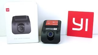 DASHCAM REVIEW: Yi Mini - Yi's budget wedge-shaped WiFi dash-cam