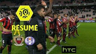 OGC Nice - Toulouse FC (3-0)  - Résumé - (OGCN - TFC) / 2016-17