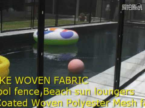 buy fabric making safety pool fence,Swimming pool fence fabric factory supplier vinyl woven fabric