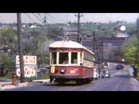 April 26, 1953 The last Fan Trips on Lehigh Valley Transit's Northampton Line