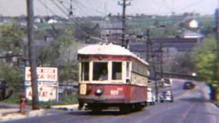 April 26, 1953 The last Fan Trips on Lehigh Valley Transit's Northampton Line