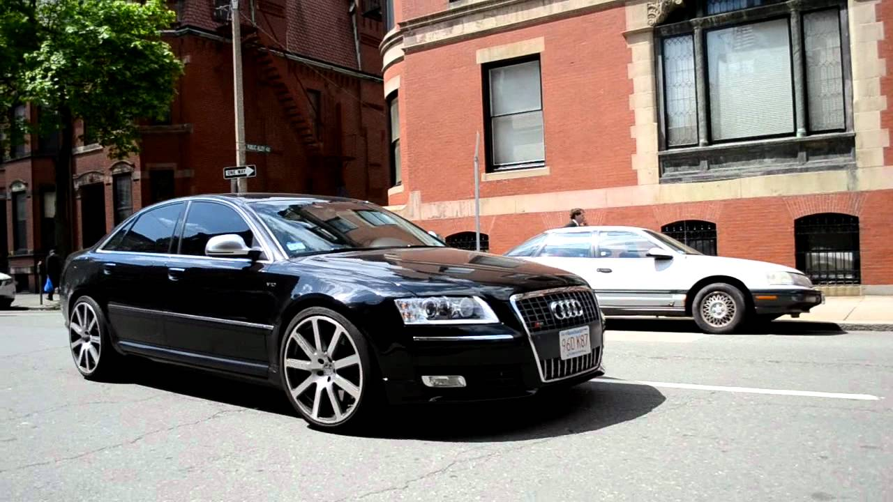 mtm tuned v10 audi s8 in boston hd youtube. Black Bedroom Furniture Sets. Home Design Ideas