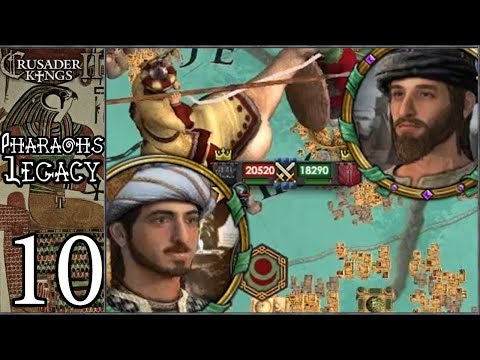 Скачать CK2Plus: Pharaoh 's Legacy #10 - Revenge of the Caliph [Series B] -  смотреть онлайн - Видео