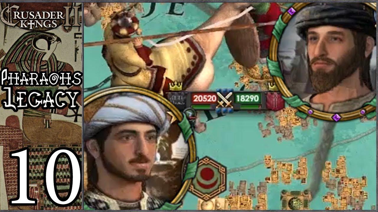 Скачать CK2Plus: Pharaoh 's Legacy #10 - Revenge of the