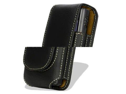 Melkco Tasche Leder Etui cuir ~Samsung I8510 INNOV8 Universal Vertical Pouch (Black) Medium