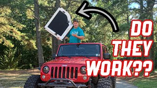 Hard Top Headliners, Do They Really Work?  Jeep Wrangler Hot Head Install and Review