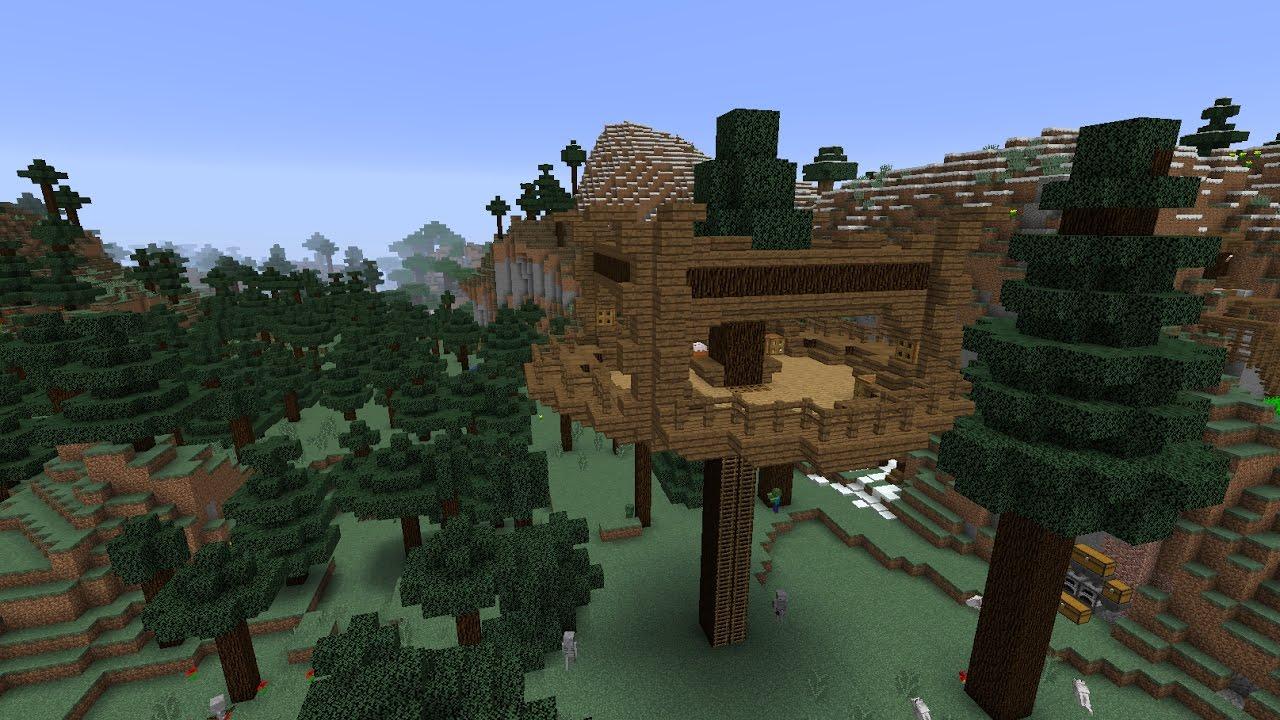 Mc 20 minecraft ita survival 13 la casa sull albero youtube - Casa sull albero minecraft ...