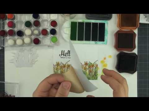 Local King Rubber Stamp Tutorial 52 How To Created