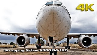 Scrapping Airbus A300 [4K]