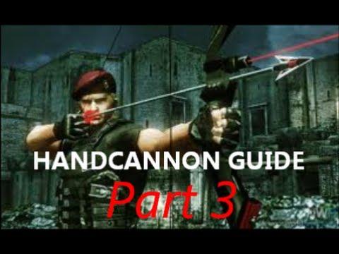 re4 how to get handcannon