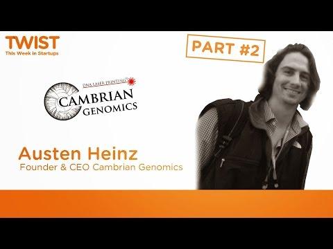 Austen Heinz, Part 2: DNA Laser Printing Demo & Exploration Of The Dark Side