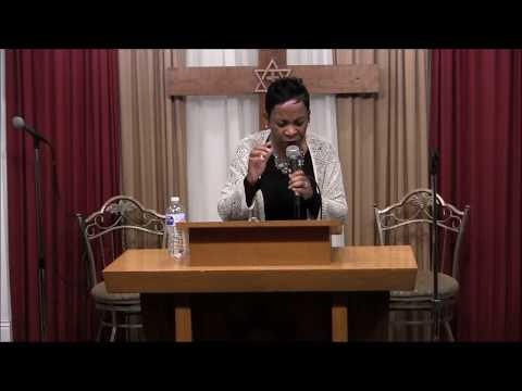 """ Fight the Good Fight "".....Dr. Juliet McBride ministering at Samantha's Li'l Bit of Heaven"