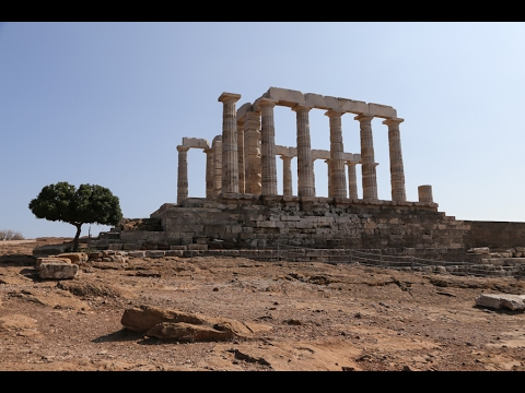 Греция: Мыс Сунион / Greece: Cape Sounion