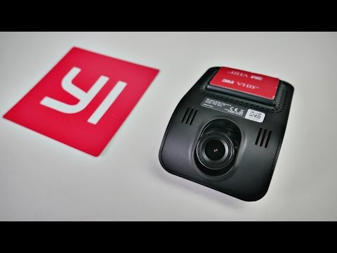 YI Mini Car Dashcam - 1080p - WDR - LDWS - Collision Detection