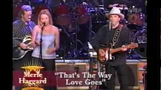 "Merle Haggard  & Jewel - ""That´s The Way Love Goes"""