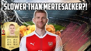 Download Video 10 SLOWEST Players On FIFA 18 - Who Makes Mertesacker Look Fast?! MP3 3GP MP4