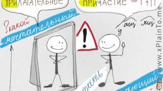 Как отличать причастие от прилагательного_