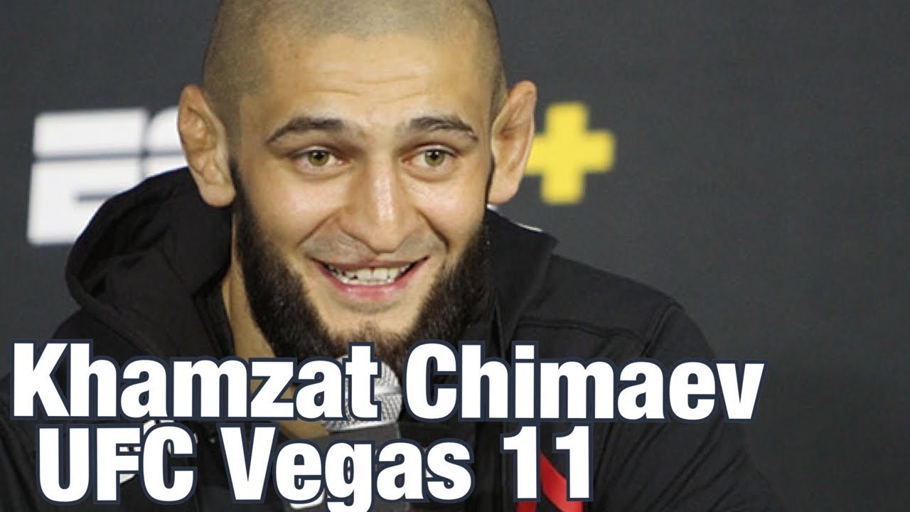 Khamzat Chimaev says he is ready for title shot in two UFC divisions