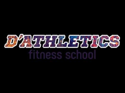 Урок в школе фитнеса и бодибилдинга D'Athletics Дмитрия Крылова