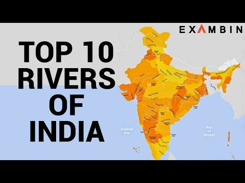 Top 10 Rivers of India | Longest rivers of India with Origin and End.