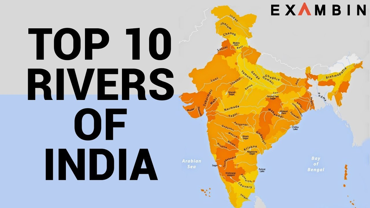 Top 10 Rivers of India Longest rivers of India with Origin and End