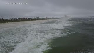 Subtropical Storm Alberto makes landfall, brings 45 mph winds