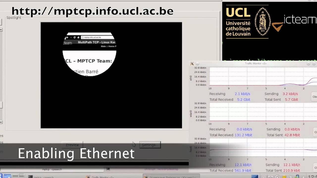 MultiPath TCP - Linux Kernel implementation : Main - Home