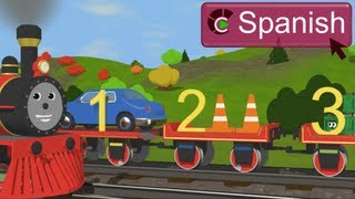 Learn Numbers with Shawn the Train (SPANISH) - Aprendan los números con  Shawn el tren