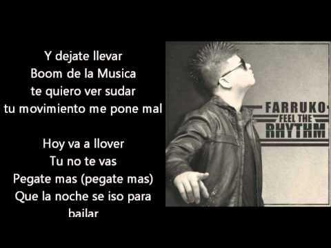 Farruko  feel the rhythm letra tmpr