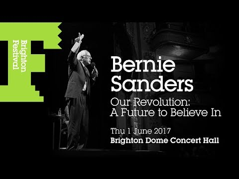 Bernie Sanders in Brighton, UK Our Revolution Book Tour [6/1/17]