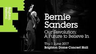Bernie Sanders in Brighton, UK Our Revolution Book Tour [6/1/17]