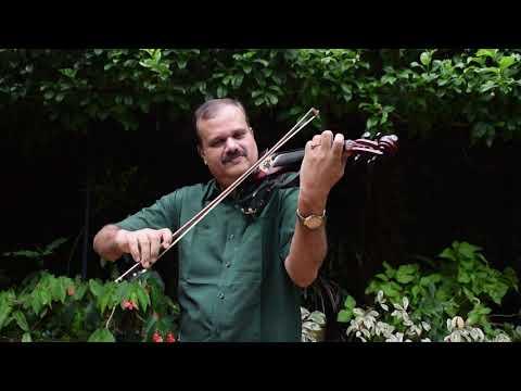 Kaathil thenmazha   Violin instrumental by Jobi Vempala