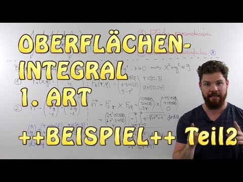 Oberflächenintegral 1.Art - BEISPIEL (Teil 2) | Parametrisierung in Polarkoordinaten from YouTube · Duration:  11 minutes 28 seconds