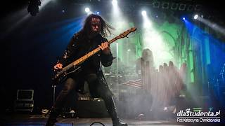 Cradle Of Filth + Moonspell + Sacrilegium zagrali w Progresji - 21.01.2018  Warszawa