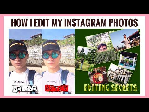 HOW I EDIT MY INSTAGRAM PHOTOS ON MY PHONE || Pj MIRASOL VLOG thumbnail