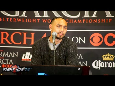 Thurman vs. Garcia- THE FULL KEITH THURMAN POST FIGHT PRESS CONFERENCE VIDEO