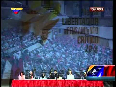 Discurso de Pdte Nicolás Maduro tras entrega de Premio Libertador a Marta Harnecker